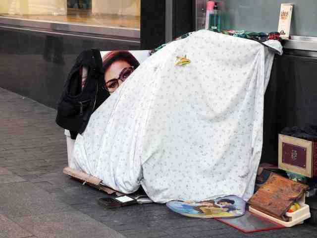 Dormir en la calle