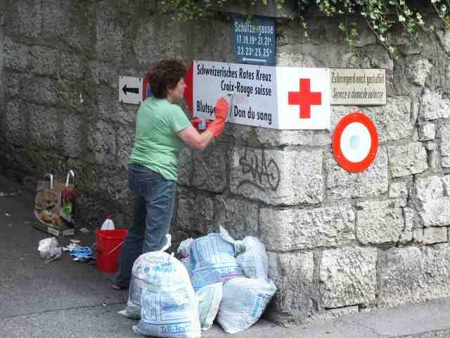 Limpieza suiza