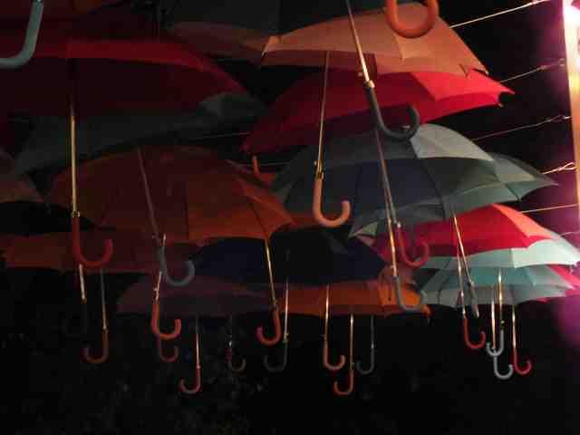 Los paraguas de Varsovia