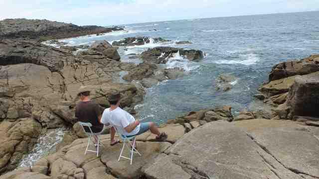 Mirar al mar de Galicia