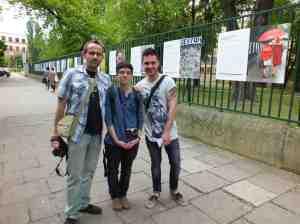 Wystawa Krakòw_ntonio, Marina, Javier