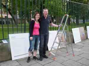 Wystawa Krakòw_Seb et Claudia